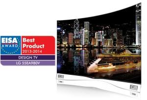 LG CURVED OLED TV_EISA